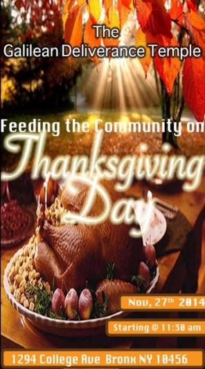 thanksgivinng flyer